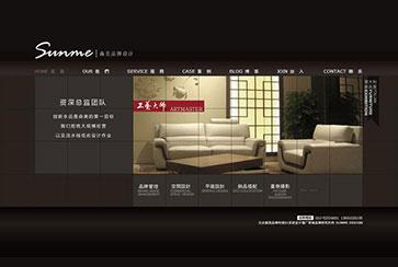品牌网站设计案例