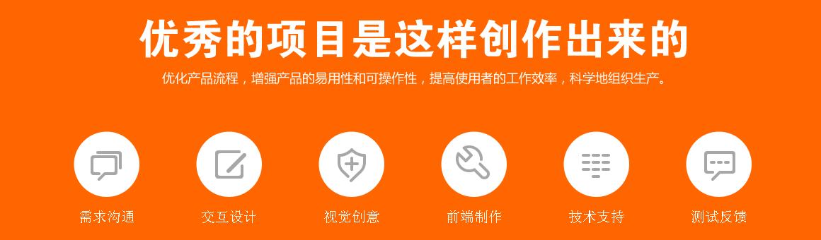 通州网站建设流程图